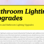 Bathroom Lighting Upgrades